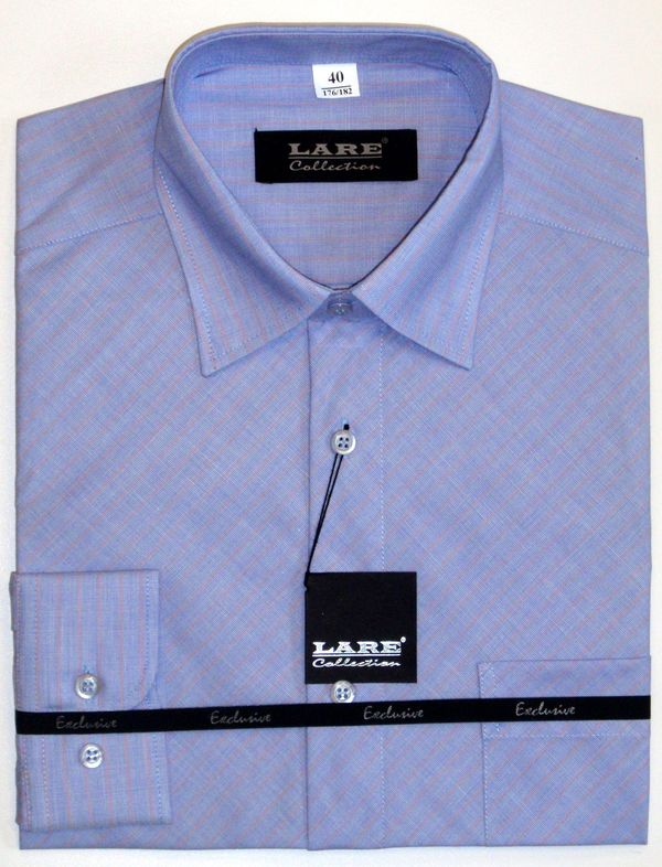 Vzorované pánské košile BAVLNĚNÉ s DLOUHÝM rukávem GALLANT G28 fa14caf874