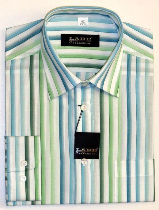 Vzorované pánské košile BAVLNĚNÉ s DLOUHÝM rukávem-GALLANT G67 6536da23e9