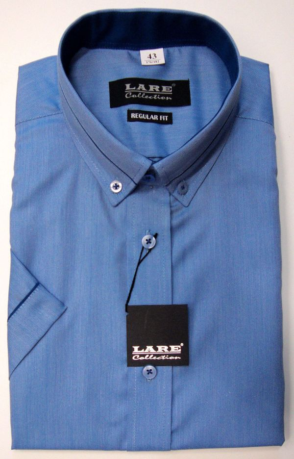 Vzorované pánské košile s KRÁTKÝM rukávem - REGULAR FIT a SLIM FIT THOMAS  T172 34d4a07e75