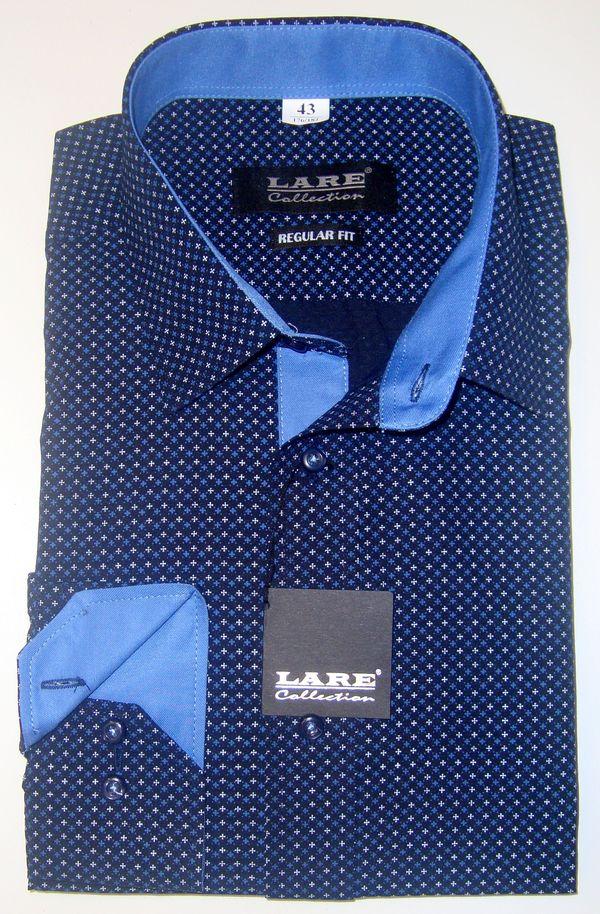 Vzorované pánské košile s DLOUHÝM rukávem - REGULAR FIT a SLIM FIT GALLANT  G119 247a75cc9e